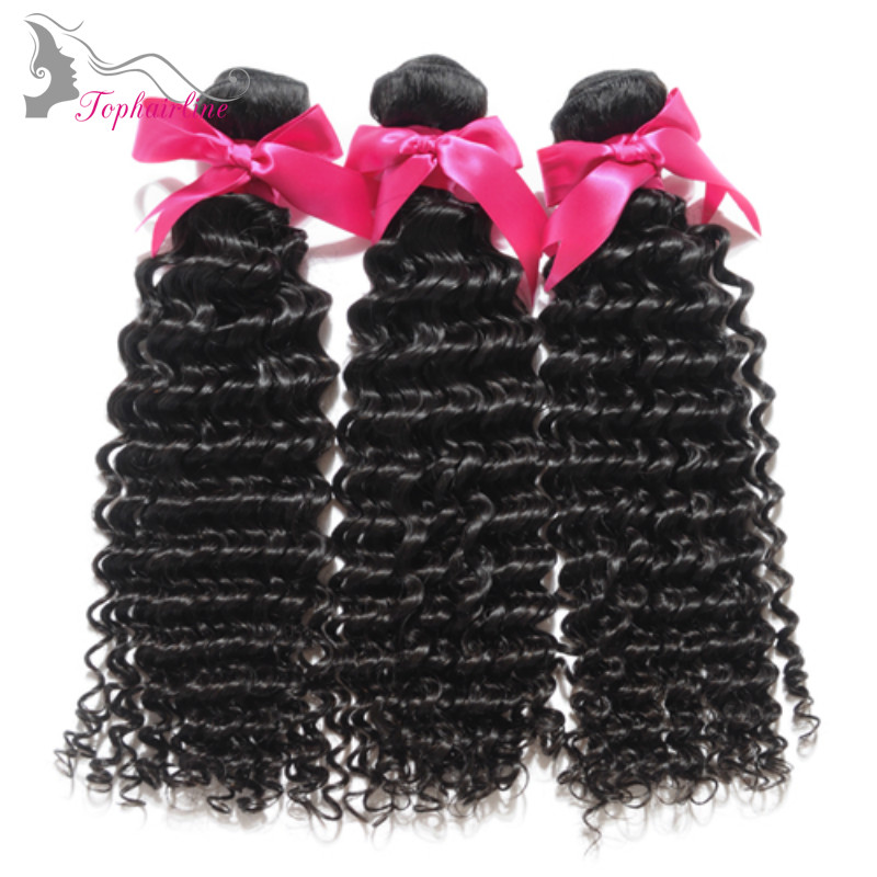 Wholesale Brazilian Deep Curly Virgin Hair
