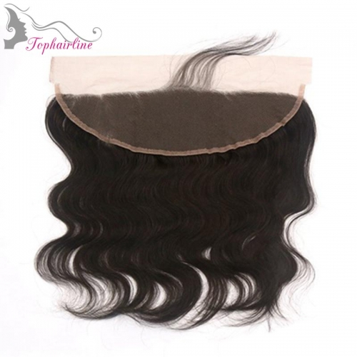 Wholesale 13*4 Body Wave Virgin Brazilian Hair ear to ear Frontal