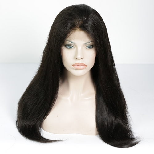 Full Lace Wig Straight Virgin Hair