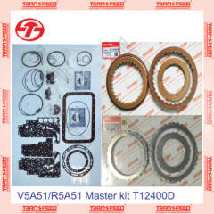 V5A51/R5A51 Transmission Repair Kit Master set For MITSUBIS HI V75 99-ON T12400D