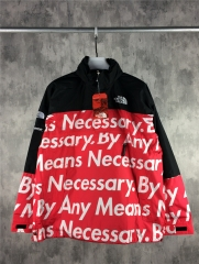 [No.848] 15FW Mountain Pullover By Any Means Necessary Black Red