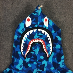[No.608] Paris Limited Camo Shark Hoodie