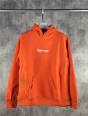 [No.732] Box Logo Hoodie Orange