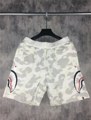Sale Free shipping Bape Full City Camo shark face shorts glow in the dark