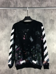 [No.720] OFF-WHITE C/O VIRGIL ABLOH FW Galaxy Sweatshirt