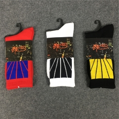 [No.895] Free Shipping 16AW Gosha Rubchinskiy Socks black white red