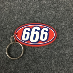 [No.860] Free shipping 17ss 666 keychain
