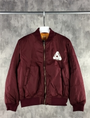 [NO.983]15SS Palace Skateboards MA 1 Bomber Jacket black burgundy