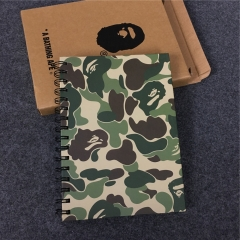[No.729] Free shipping Camo Note book