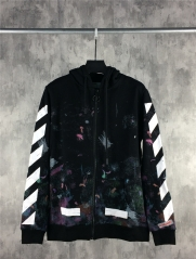 [No.656] Off-white Oversized Galaxy Hoodie
