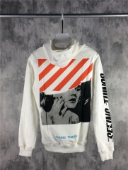 [No.689] Off-white Marilyn Monroe Hoodie