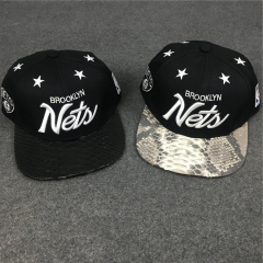 [No.850] Free Shipping Just Don Brooklyn Nets snakeskin cap