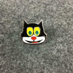 [NO.989]Free Shipping 15FW Mad Cat Pin