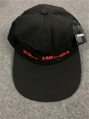 Free Shipping VETEMENTS Sexual Fantasies Cap black