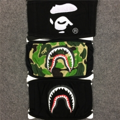 [No.696] Free Shipping Bape camo shark mask 3 color