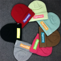 [No.538] Free shipping 17FW Box Logo Beanie 7 color