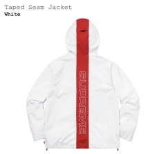 [No.504] 18ss Taped Seam jacket White