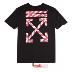 [No.481] Free Shipping OFF WHITE OW Taipei Limited Tee