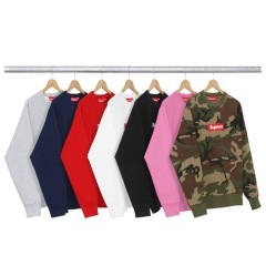 [No.537] 15FW Box Logo Box Logo Crewneck 4 colors