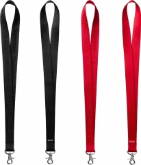 [NO.980]Free Shipping 16SS Nylon Lanyard black red