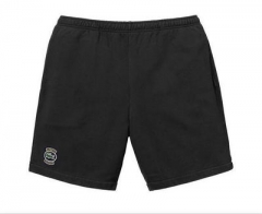 [No.457] Free Shipping 18SS Sup x Lacost*e Pique Short Black/Navy Blue