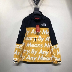 [No.426] Sup x Tnf By Any Means Mountain Pullover Yellow