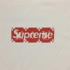 [No.763] Free shipping Red Box Logo tee