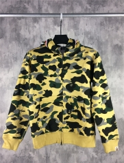 [No.439] [S] Bape 3M Camo Shark Hoodies