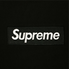 [No.417] 13FW Box Logo Hoodies Black White