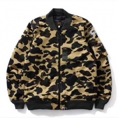 [NO.968]Full Camo MA1 Jacket yellow green camo