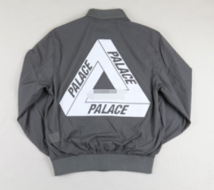[No.845] Free Shipping PALACE 15SS TECH BOMBER JACKET Grey