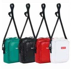 [No.691] Free shipping 17FW SUP 43TH SHOULER BAG black white red