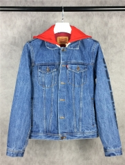 [No.699] Sup Hooded Trucker Jacket