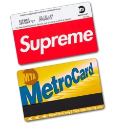 [No.407] Free shipping Sup MTA Metro Card sticker
