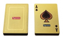 [No.401] Free Shipping 13FW Gold Poker Cards