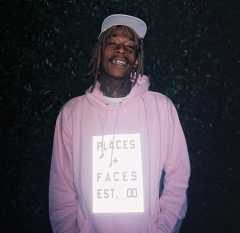 [No.386] P+F Places+Faces 3M Logo Hoodie
