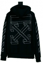 [No.377] Off White OW 3D Logo Hoodie (Thin Logo)