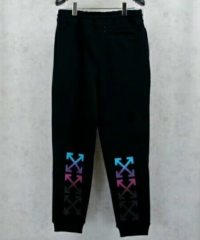 [No.373] OFF WHTIE OW RAINBOW SWEATPANTS BLACK