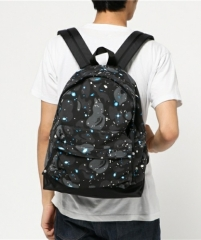 [No.890] Space camo backpack glow in the dark