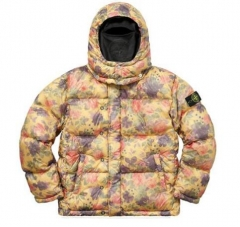 [No.337] Sup x Stone lsland lamy nylon down puffy jacket