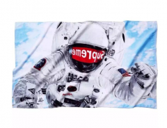 HG [NO.976s]Free Shipping Astronaut Beach Towel
