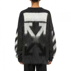 [No.331] OFF WHITE MOHAIR SWEATER OVERSIZED