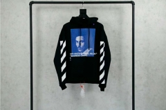 [No.324] OFF WHITE BERNINI HOODIE BLACK