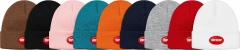 [No.310] Free shipping Sup 18SS Rubber Patch Beanie