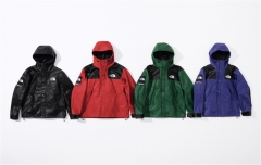 [No.304] Sup x TNF 18FW Leather Mountain Parka Jacket