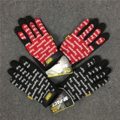 [No.289] Free shipping Sup 17SS Mechanix Work Gloves black red