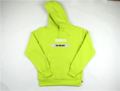 [NO.978]Box Logo Hoodies Fluorescent green