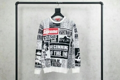 [No.252] 18FW Newsprint Sweater