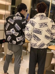 [No.237] 17FW License Plate Puffy Jacket