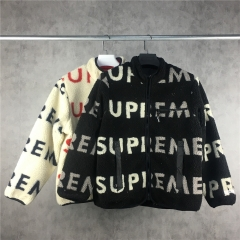 [No.230] 18FW SUP Reversible Logo Fleece Jacket
